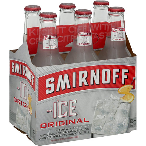 Smirnoff Ice 6 pack Bottles