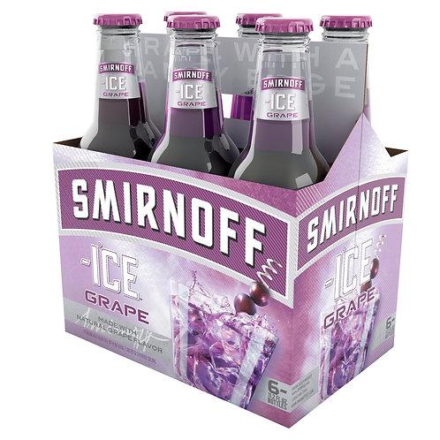 Smirnoff Grape 6 pack Bottles