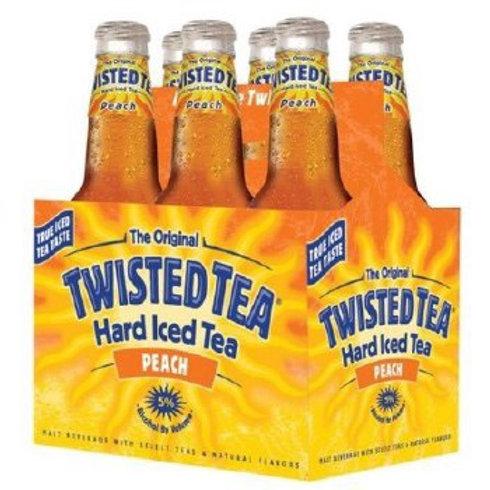 Twisted Tea Peach 6 pack bottles