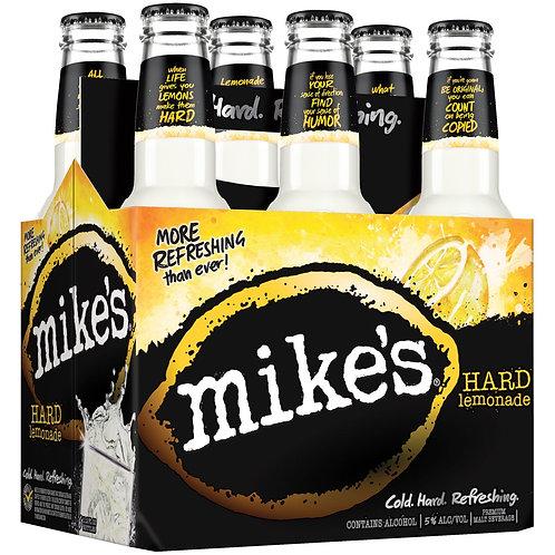 Mikes Lemonade 6 pack Bottles
