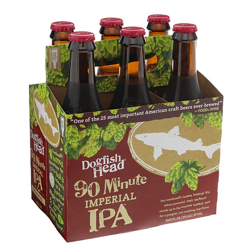 Dogfish Head 90 minute 6 pack bottles