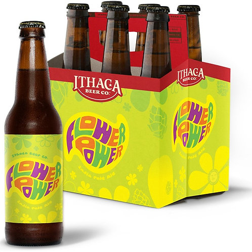 Ithaca Flower Power 6 pack Bottles