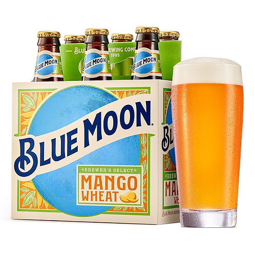 Blue Moon Mango Wheat 6 pack bottles