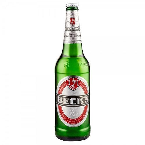 Becks 12 pack Bottles