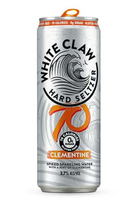 White Claw Clementine 6 pack Cans