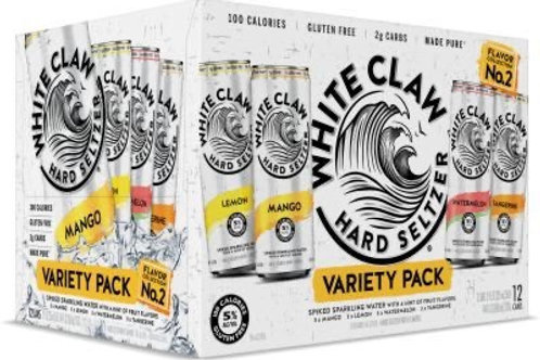 White Claw # 2 Variety 12 pack cans