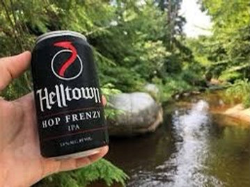 Helltown Hop Frenzy 6 pack cans
