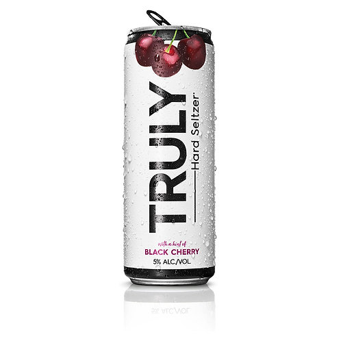 Truly Black Cherry 6 pack cans