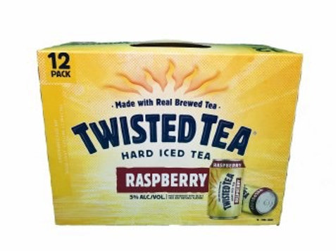 Twisted Tea Raspberry 12 pack cans