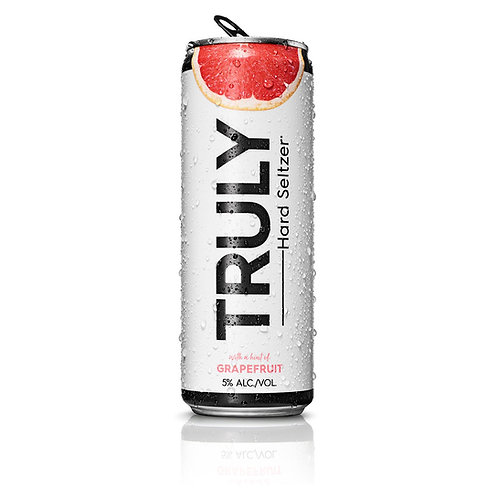 Truly Grapefruit 6 pack cans