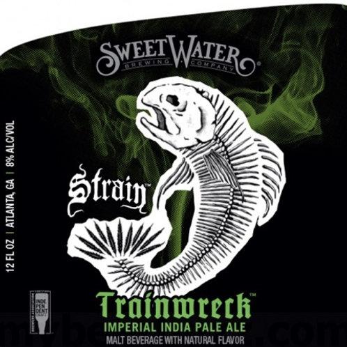 Sweet Water Trainwreck Hazy Double IPA 6 pack Bottles