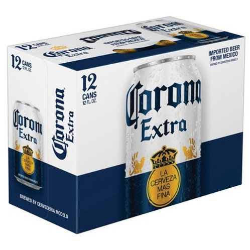 Corona 12 pack cans