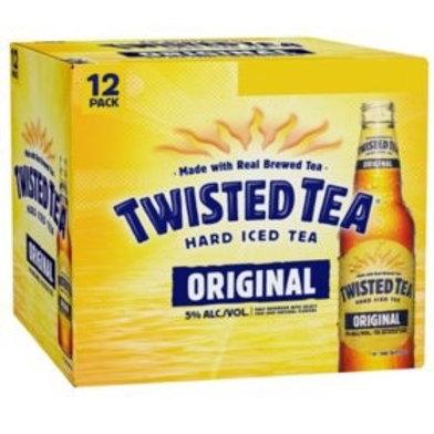 Twisted Tea 12 pack bottles