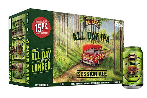 Founders All Day IPA 15 pack cans