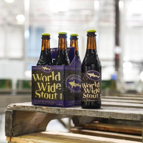 Dogfish Head World Wide Stout Single 12oz bottle