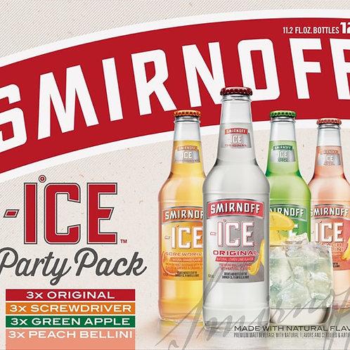 Smirnoff Variety 12 pack Bottles