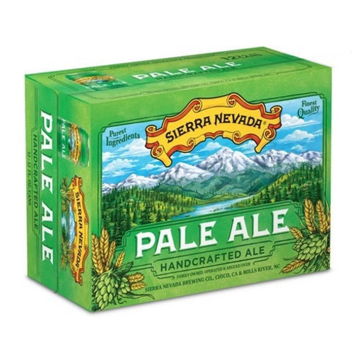 Sierra Nevada Pale Ale 12 pack cans