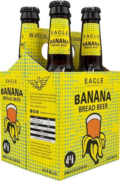 Eagle Banana Bread Ale 4 pack bottles
