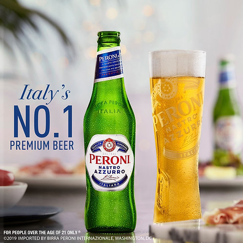 Peroni 6 pack Bottles