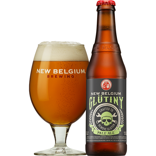 New Belgium Glütiny Pale Ale 6 pack bottles
