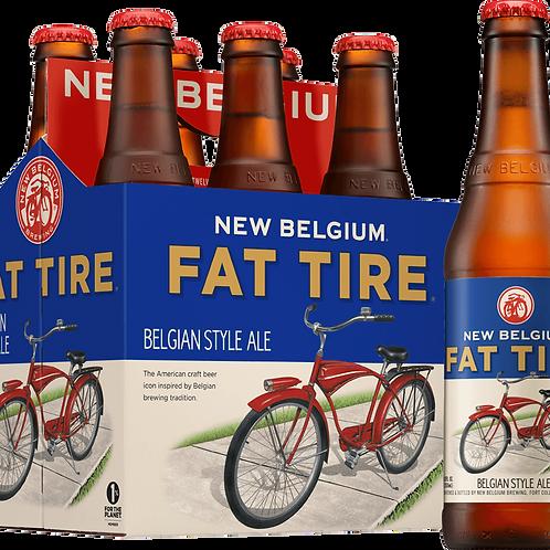New Belgium Fat Tire 6 pack bottles