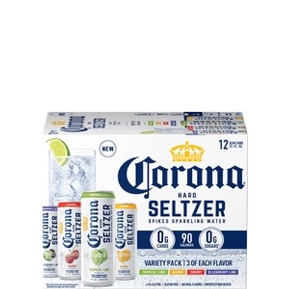 Corona Seltzer Variety 12 pack cans