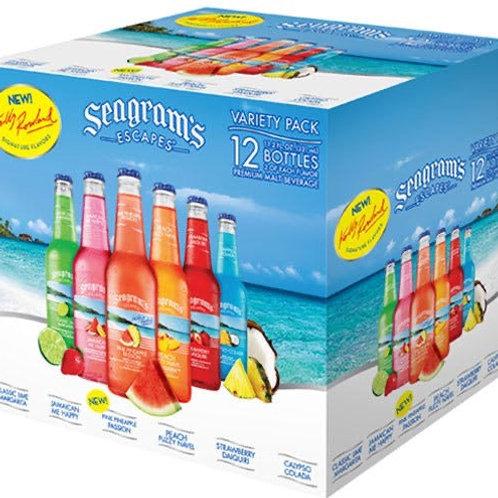 Seagrams variety 12 pack bottles