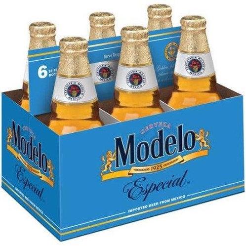 Modelo Especial 6 pack bottles