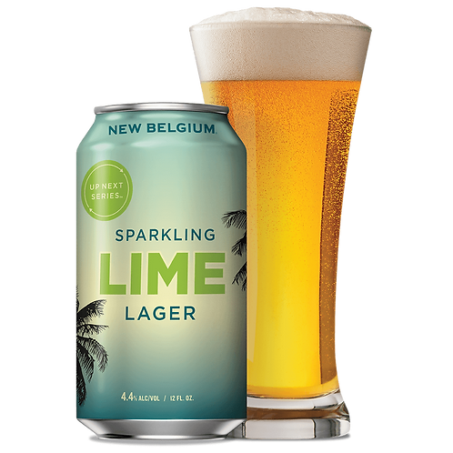 New Belgium Sparkling Lime Lager 6 pack cans