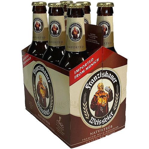 Franziskaner 6 pack bottles