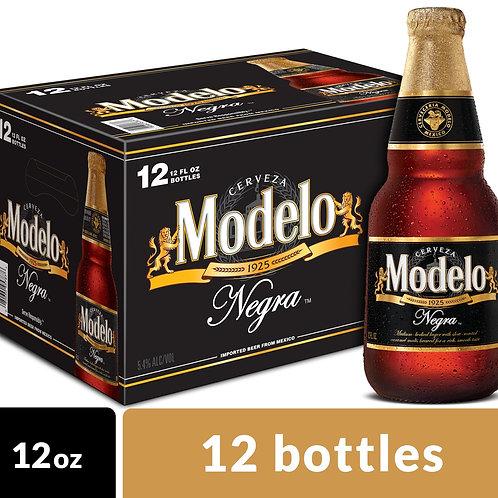 Negra Modelo 12 pack bottles