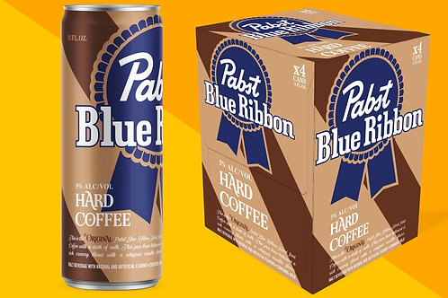 Pabst Hard Coffee 4 pack Cans
