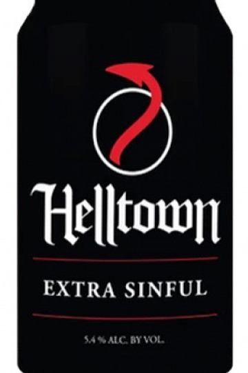 Helltown Xtra sinful 6 pack cans
