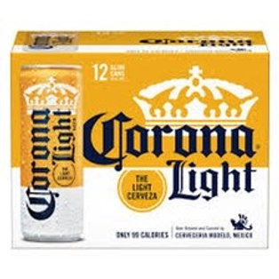 Corona Light 12 pack cans