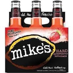 Mikes Strawberry Lemonade 6 pack Bottles
