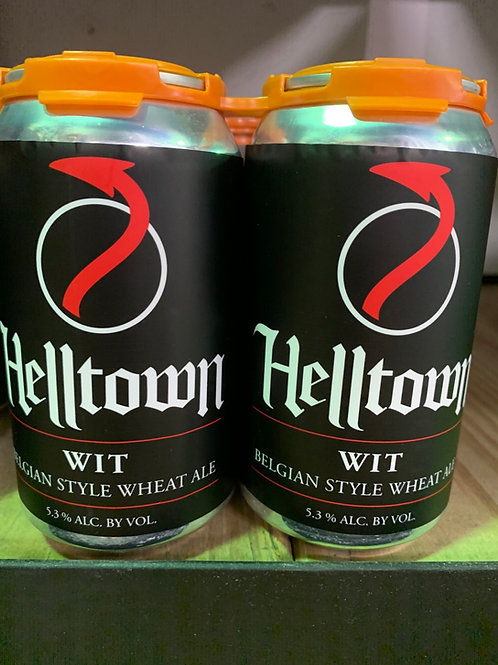Helltown Wit 6 Pack Cans
