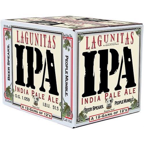 Lagunitas IPA 12 pack bottles