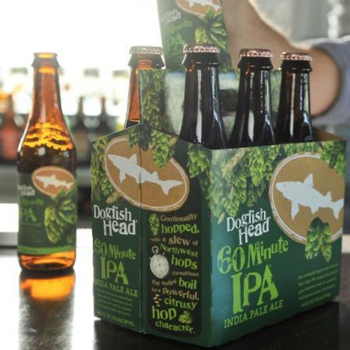 Dogfish Head 60 minute 6 pack bottles