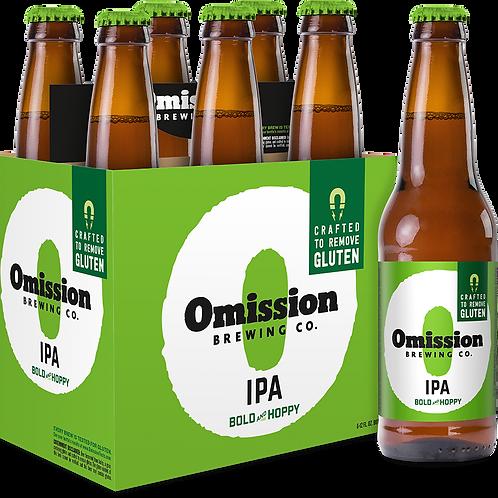 Omission IPA 6 pack bottles