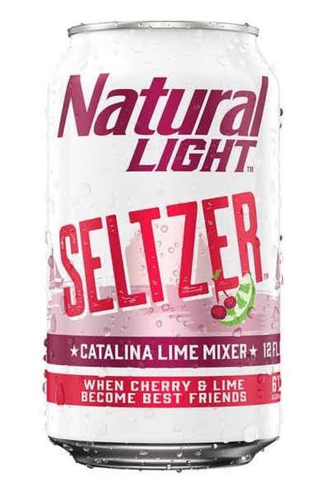 Natural Light Catalina Seltzer 12 pack cans