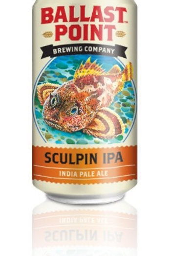 Ballast Point Sculpin IPA 6 Pack Can