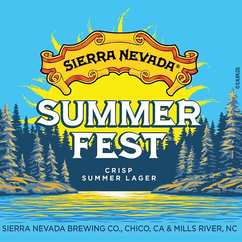 Sierra Nevada Summer Fest 12 pack Cans