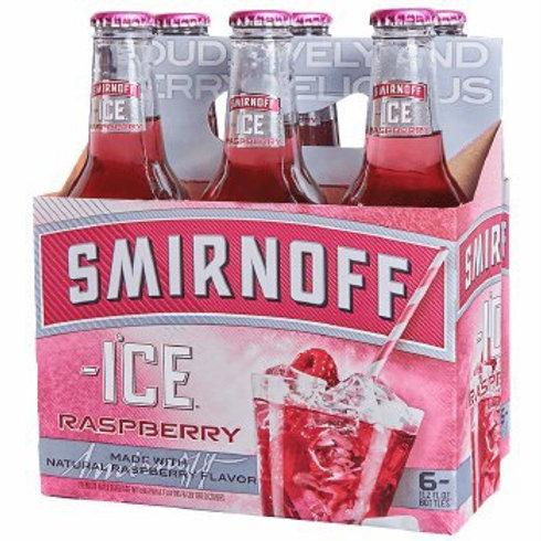 Smirnoff Raspberry 6 pack Bottles