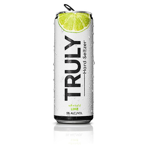 Truly Lime 6 pack cans