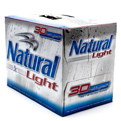 Natural Light 30 pack cans