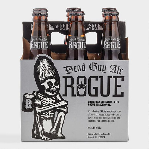 Rogue Dead Guy Ale 6 Pack Bottles