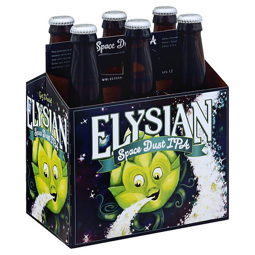 Elysian Space Dust IPA 6 pack bottles