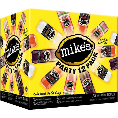Mike's Variety 12 pack bottles
