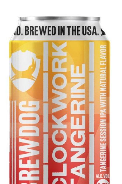 Brew Dog Clockwork Tangerine 6 pack cans