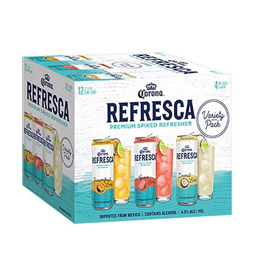 Corona Refresca Variety 12 pack cans